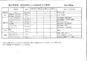 グループアトム健康管理表のサムネイル
